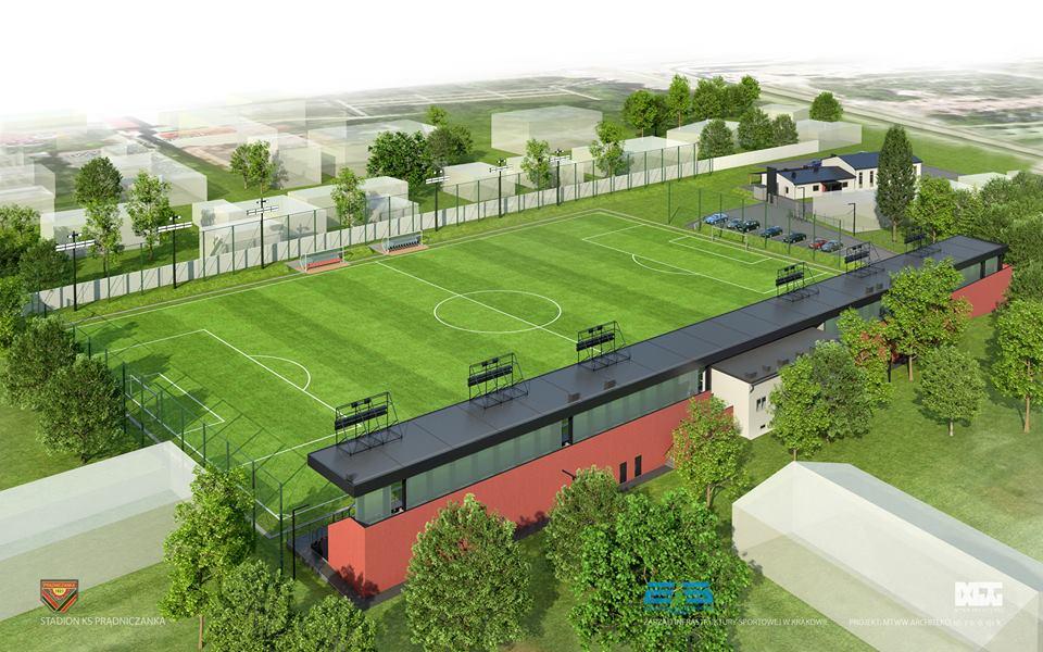 Nowy Stadion Dla Ks Prądniczanka Koszt Około 10 Milionów