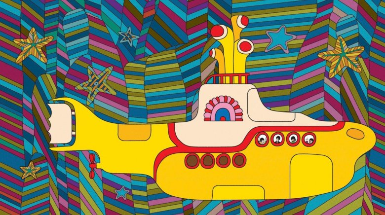 Kadr z filmu Yellow Submarine