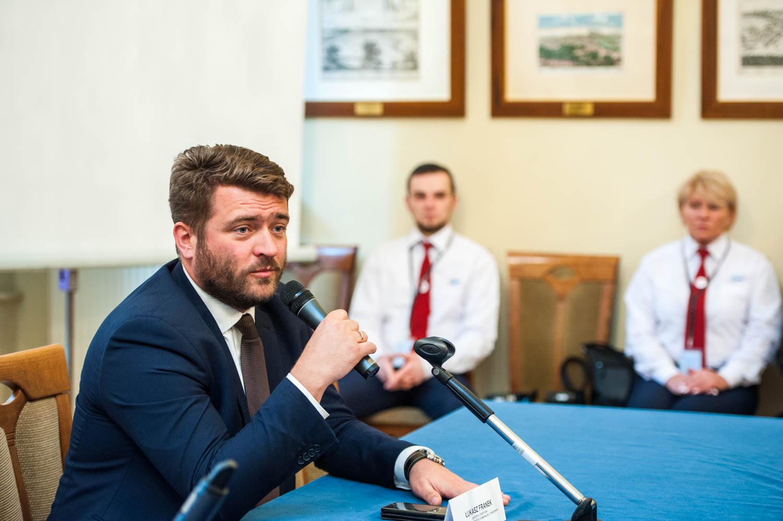 Łukasz Franek, dyrektor ZTP