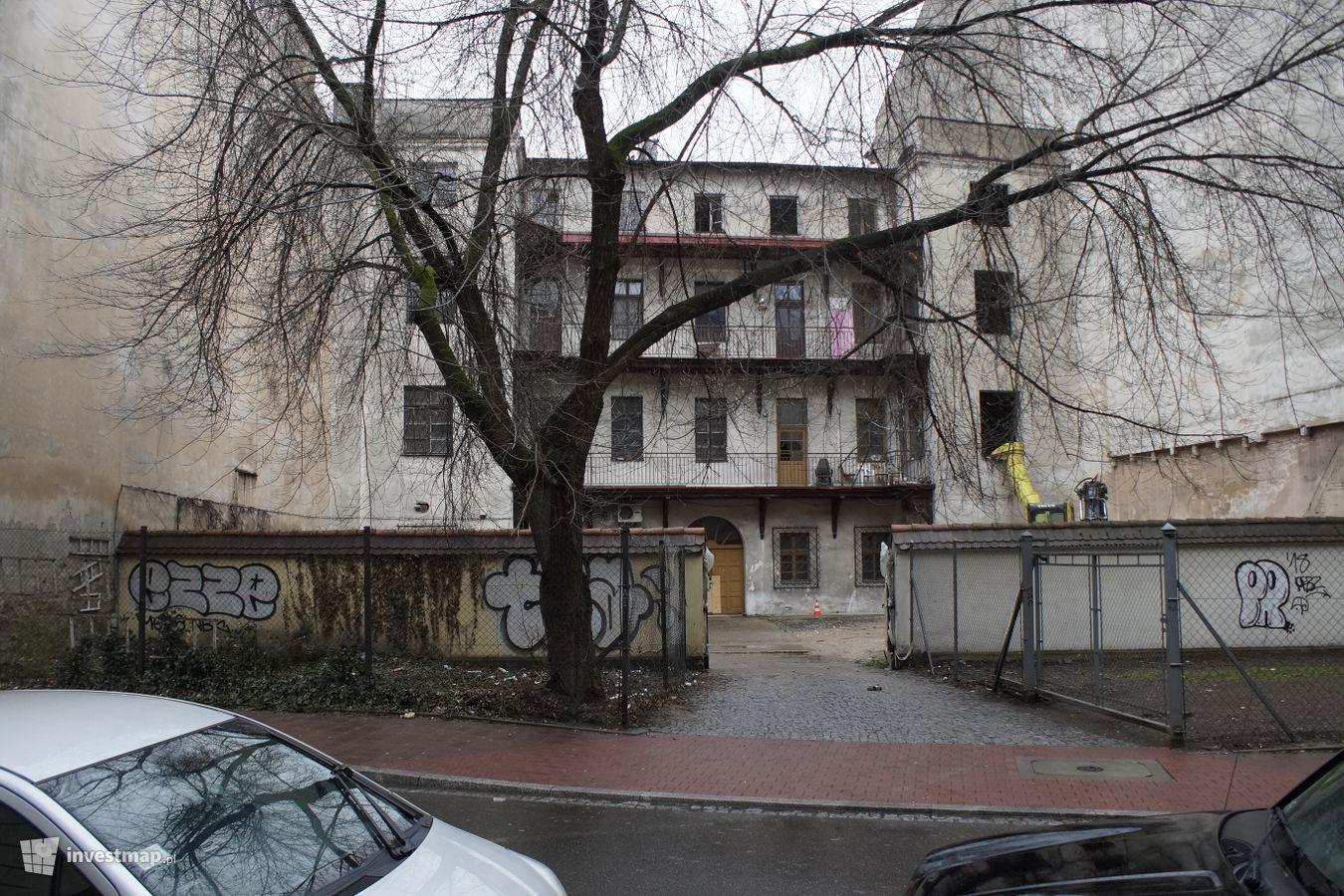 budynek od strony ul. św. Agnieszki w 2018 roku, fot. Damian Daraż/Investmap.pl