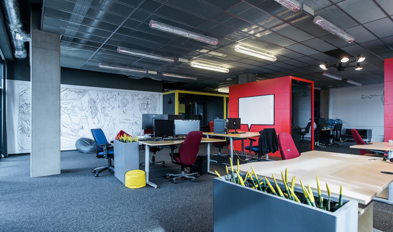 Biura w Krakowskim Parku Technologicznym