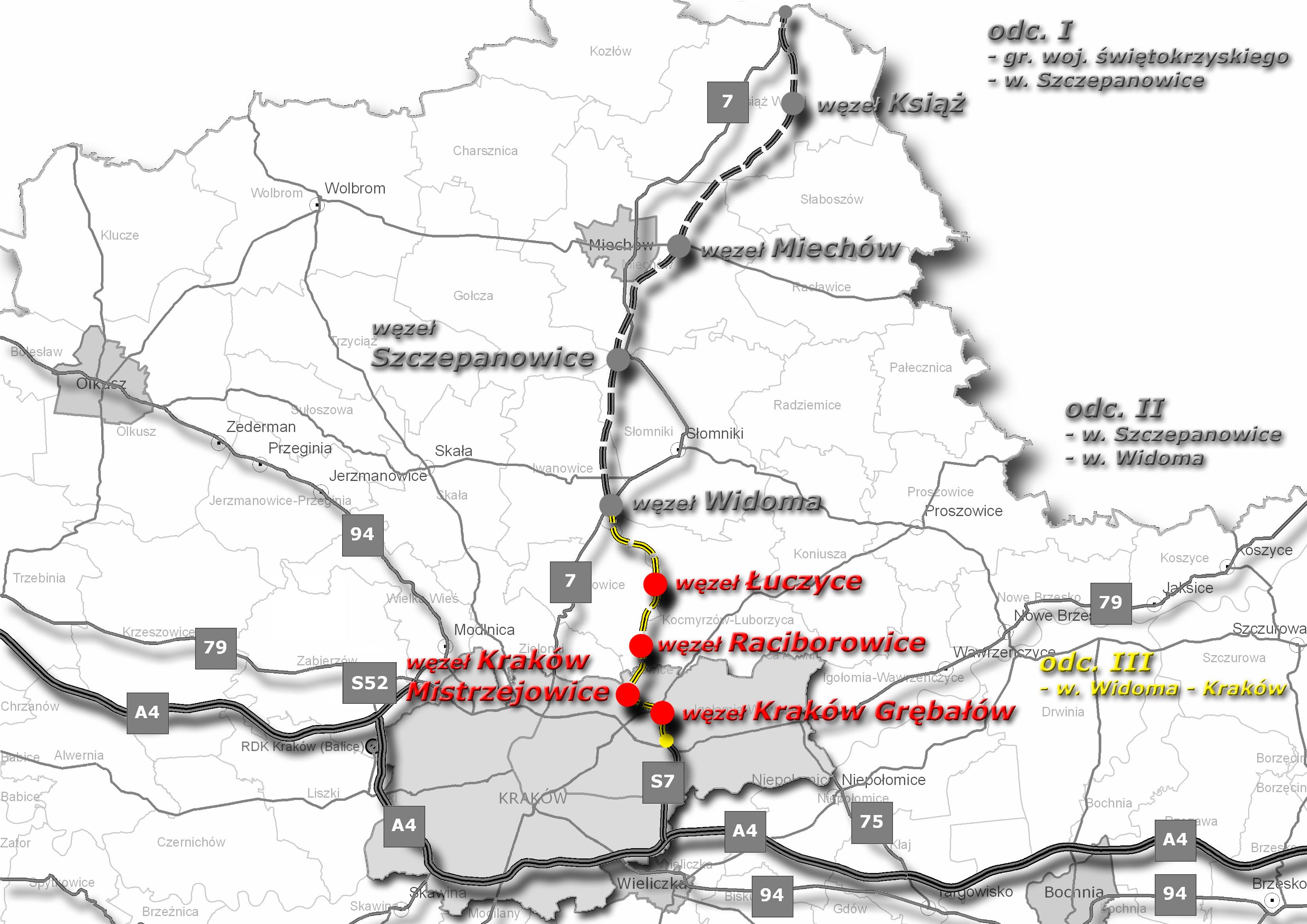 Dokladne Mapy Krakowskiej S7 Juz Dostepne Aktualnosci 70nh
