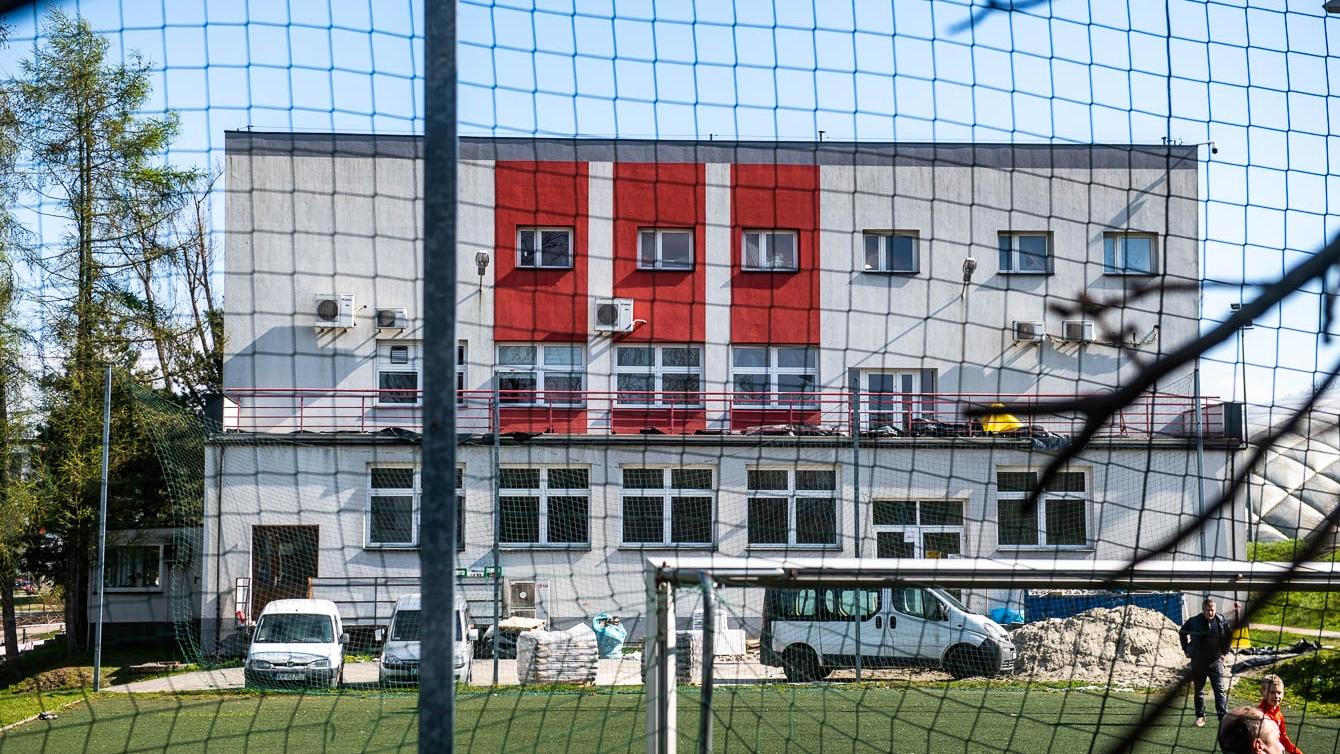 Kwiecień 2021 - remont obiektów Cracovii