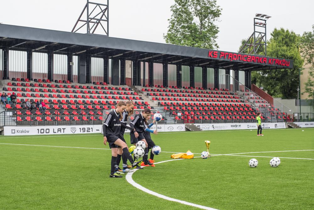Otwarcie stadionu Prądniczanki po przebudowie w maju 2019 roku. Fot. Krzysztof Kalinowski/LoveKraków.pl