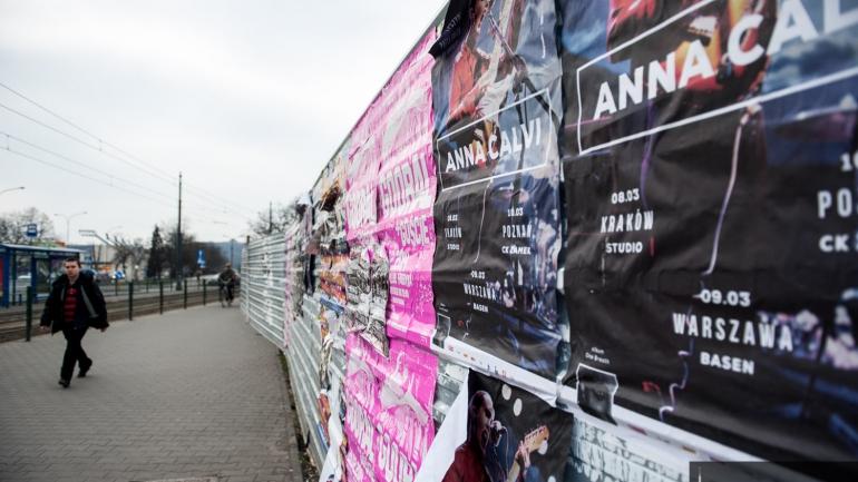 Nielegalne Plakatowanie Miasta Zdjęcie 3739 Aktualności